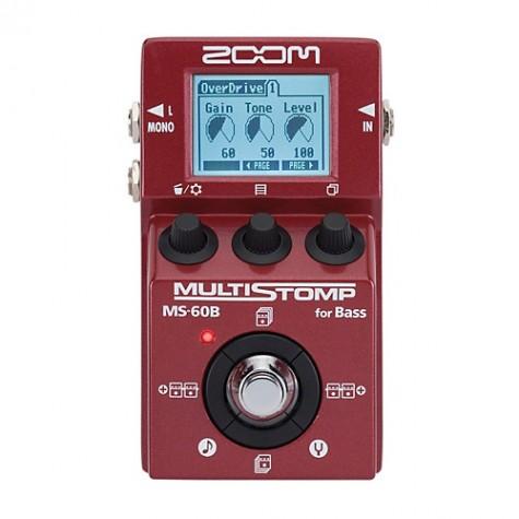 ZOOM MS-60B multiefekt basowy v 2.0.