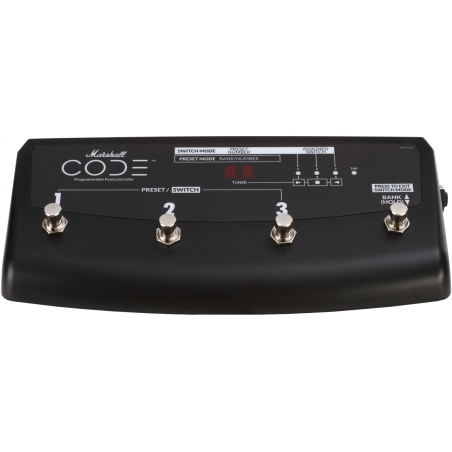 MARSHALL PEDL-91009 FOOTSWITCH CODE AMP