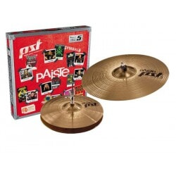 PAISTE PST 5 SET HIHAT 13 RIDE 18