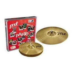 PAISTE PST 3 SET HIHAT 14 CRASH/RIDE 18