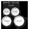PEARL ROADSHOW RS525SC/C31 ZESTAW PERKUSYJNY