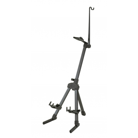 K&M 15530-000-55 VIOLIN STAND BLK