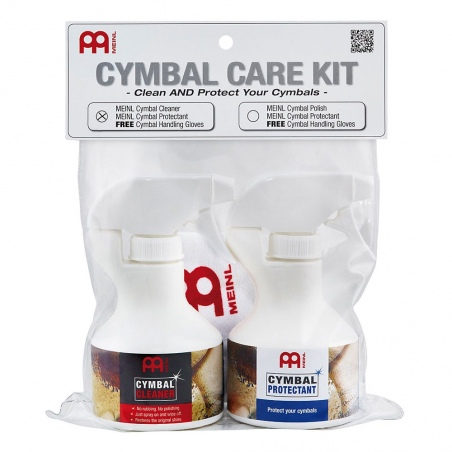 MEINL MCCK-MCCL CYMBAL CARE KIT CLEANER