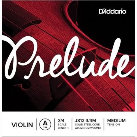 D'ADDARIO PRELUDE STRUNA A  J812 3/4