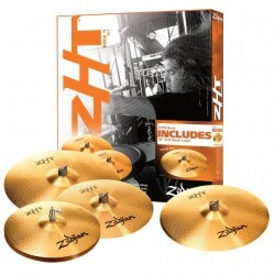 ZILDJIAN ZHT ROCK PACK + 18 CRASH