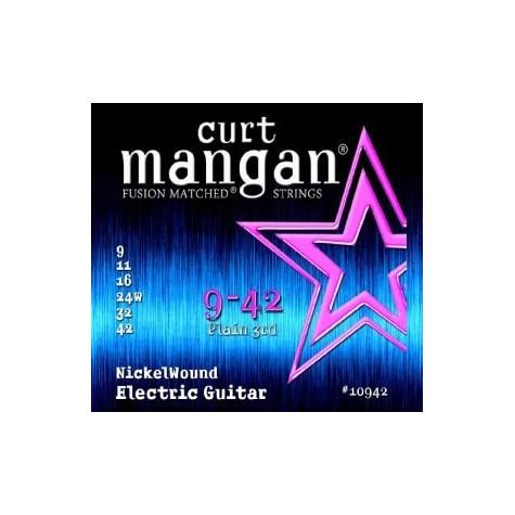 CURT MANGAN 9-42 NICKEL WOUND 10942