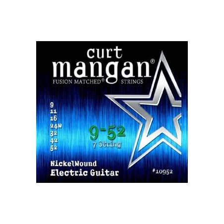 CURT MANGAN 9-52 NICKEL WOUND 7-STRING 10952