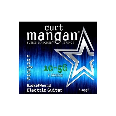 CURT MANGAN 10-56 NICKEL WOUND 7-STRING 11056