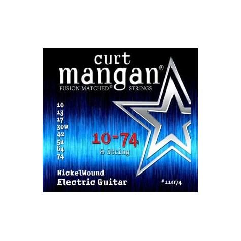 CURT MANGAN 10-74 NICKEL WOUND 8-STRING 11074