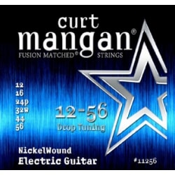 CURT MANGAN 12-56 Nickel Wound Drop Tuning struny