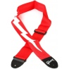 GIBSON LIGHTNING BOLT SEATBELT STRAP RED