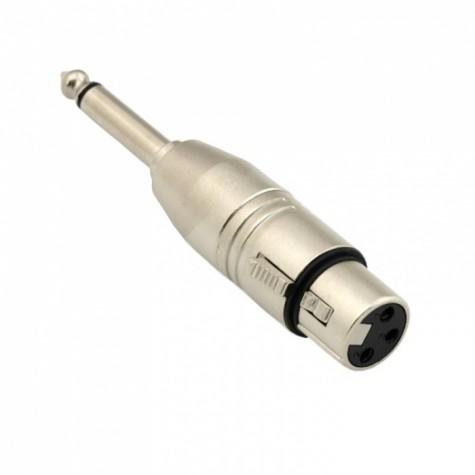 REDS RX06 redukcja wtyku xlr 3p żeński/jack mono 6.3 mm