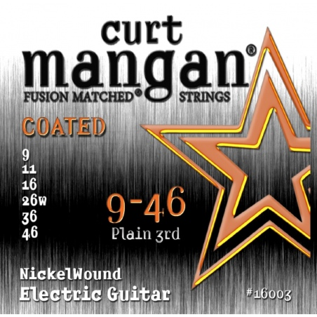 CURT MANGAN 9-46 NICKEL WOUND COATED 16003