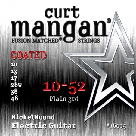 CURT MANGAN 10-52 NICKEL WOUND COATED 16005