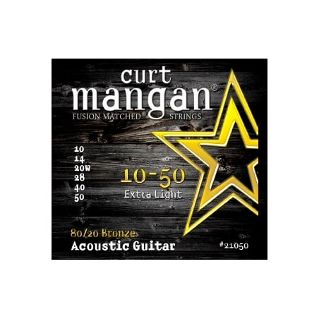 CURT MANGAN 10-50 80/20 BRONZE EXTRA LIGHT 21050