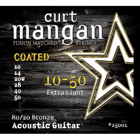 CURT MANGAN 10-50 80/20 BRONZE EXTRA LIGHT COATED 25001