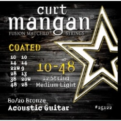 CURT MANGAN 10-48 12-String 80/20 Bronze