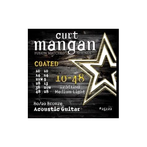 CURT MANGAN 10-48 12-STRING 80/20 BRONZE 29001