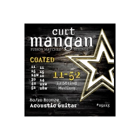CURT MANGAN 11-52 80-20 BRONZE 12-STRING 29002