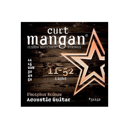 CURT MANGAN 11-52 PHOSPHOR BRONZE LIGHT 31152