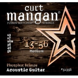 CURT MANGAN 13-56 PhosPhor Bronze Medium