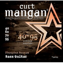 CURT MANGAN 40-95 Phosphor Bronze Bass