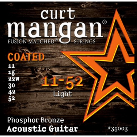 CURT MANGAN 11-52 PHOSPHOR BRONZE COATED 35003