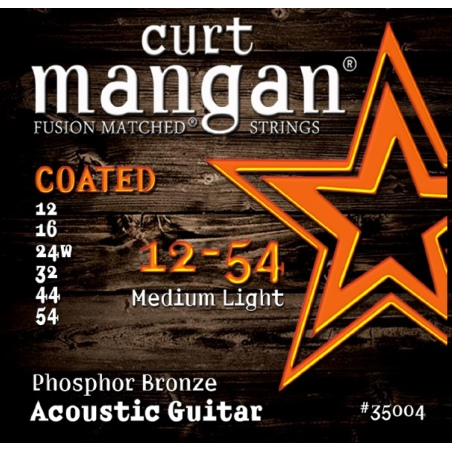 CURT MANGAN 12-54 PHOSPHOR BRONZE COATED 35004