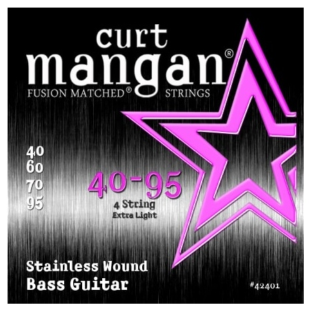 CURT MANGAN 40-95 STAINLESS STEEL WOUND 42401