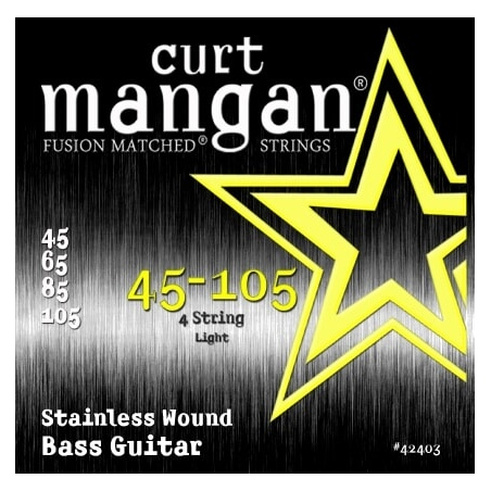 CURT MANGAN 45-105 STAINLESS STEEL WOUND 42403