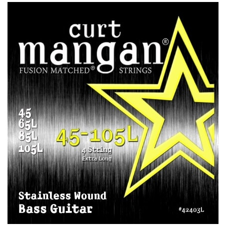 CURT MANGAN 45-105 EXTRA LONG STAINLESS STEEL WOUND 42403L