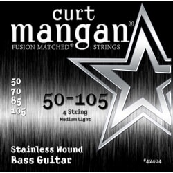 CURT MANGAN 50-105 Stainless Wound Medium Light
