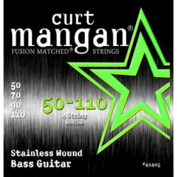 CURT MANGAN 50-110 Stainless Wound Bass 4-strings