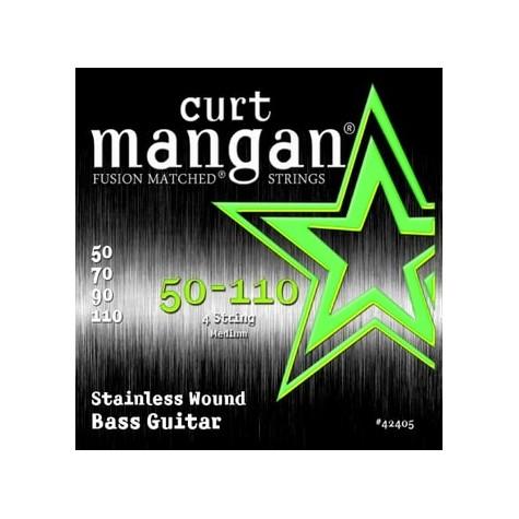 CURT MANGAN 50-110 SSTAINLESS STEEL WOUND BASS 42405