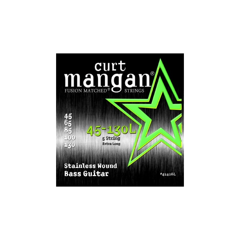 CURT MANGAN 45-130 Extra Long Stainless 5-Str