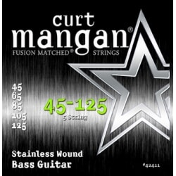 CURT MANGAN 45-125 Stainless Bass 5-String