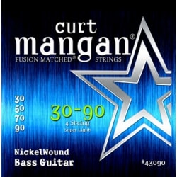 CURT MANGAN 30-90 Nickel Bass struny