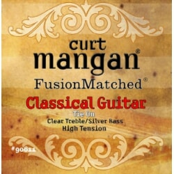 CURT MANGAN High Tension Clear/Silver struny