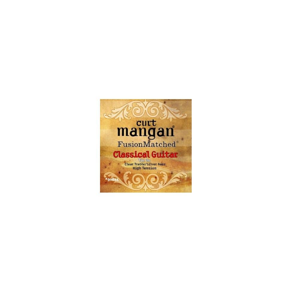 CURT MANGAN High Tension Clear/Silver struny