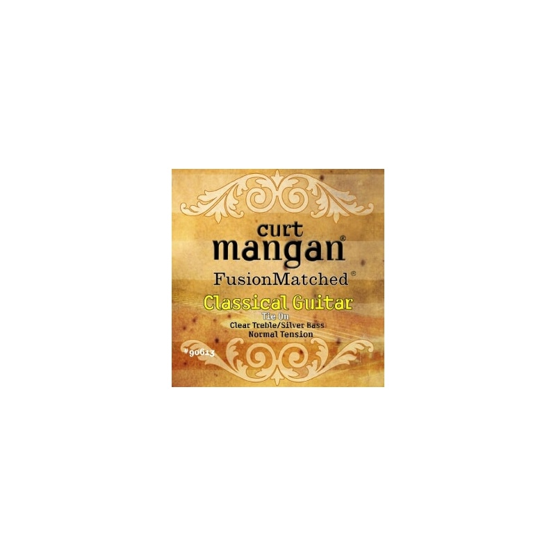 CURT MANGAN Normal Tension Clear/Silver