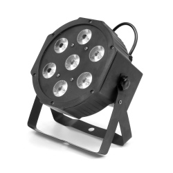 FLASH LED PAR 56 7X10W 4W1...