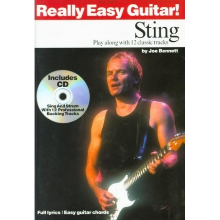 PWM. STING. REALLY EASY GUITAR + CD