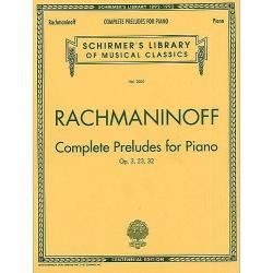 PWM RACHMANINOW S. 24 PRELUDES