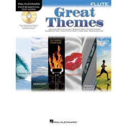 PWM. GREAT THEMES FLUTE + CD