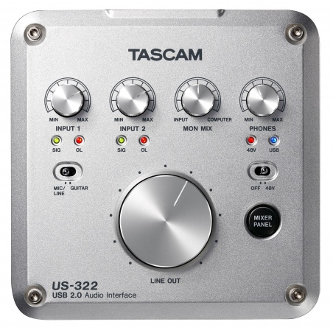 TASCAM US-322 USB