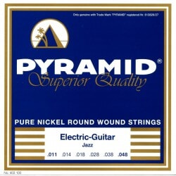PYRAMID 403100 NICKEL-PLATED .011-.048