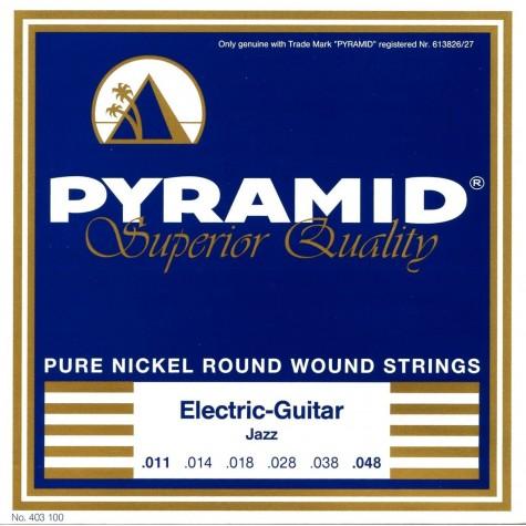 PYRAMID 403100 NICKEL-PLATED .011-.048