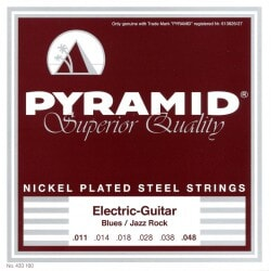 PYRAMID 433100 NICKEL-PLATED .011-.048