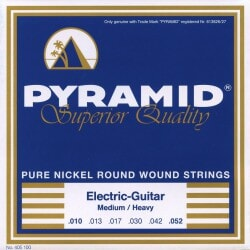PYRAMID 405100 NICKEL-PLATED .010-.052