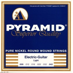 PYRAMID 401100 NICKEL-PLATED .009-.042